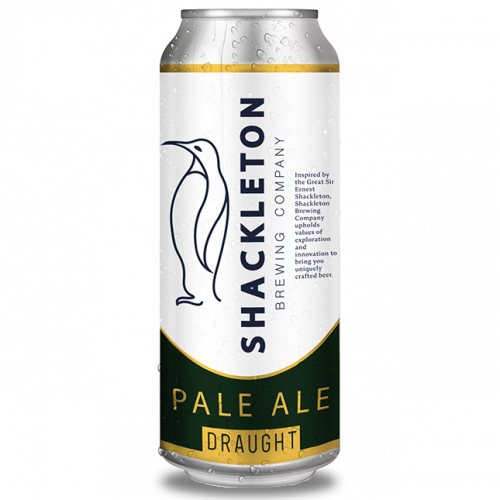 shackleton pale ale can