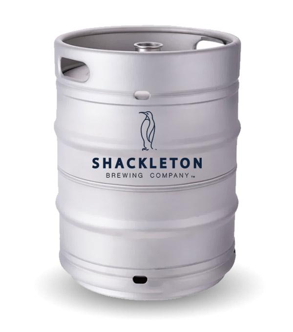 Shackleton beer keg